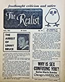 img - for The Realist (Magazine) #46 December 1963 book / textbook / text book