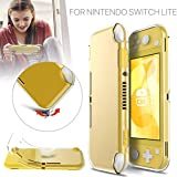 For Nintendo Switch Lite Protective Case Cover TPU Transparent Clear Shockproof Protective Soft Case Cover