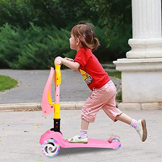 Amazon.com: Eosaga, patinete 3 en 1 para niños, patinete de ...