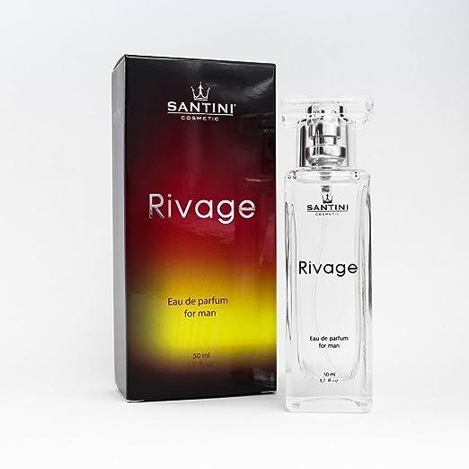 Parfum Santini Homme De Cosmetics Eau Pour Par Rivage P8nw0kO