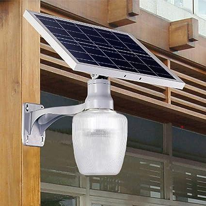 Luz Solar LED Inteligente Seguridad del Sensor Movimiento Exterior Lámpara De Pared IP67 A Prueba De