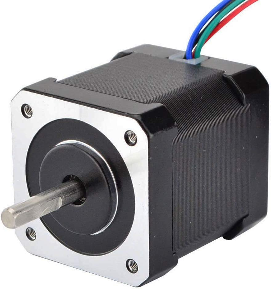 17Hs19-2004S1 BMYUK Nema 17 Stepper Motor 48Mm Nema17 Motor 42Bygh 2A 4-Lead Motor 1M Cable for 3D Printer CNC Xyz Motor