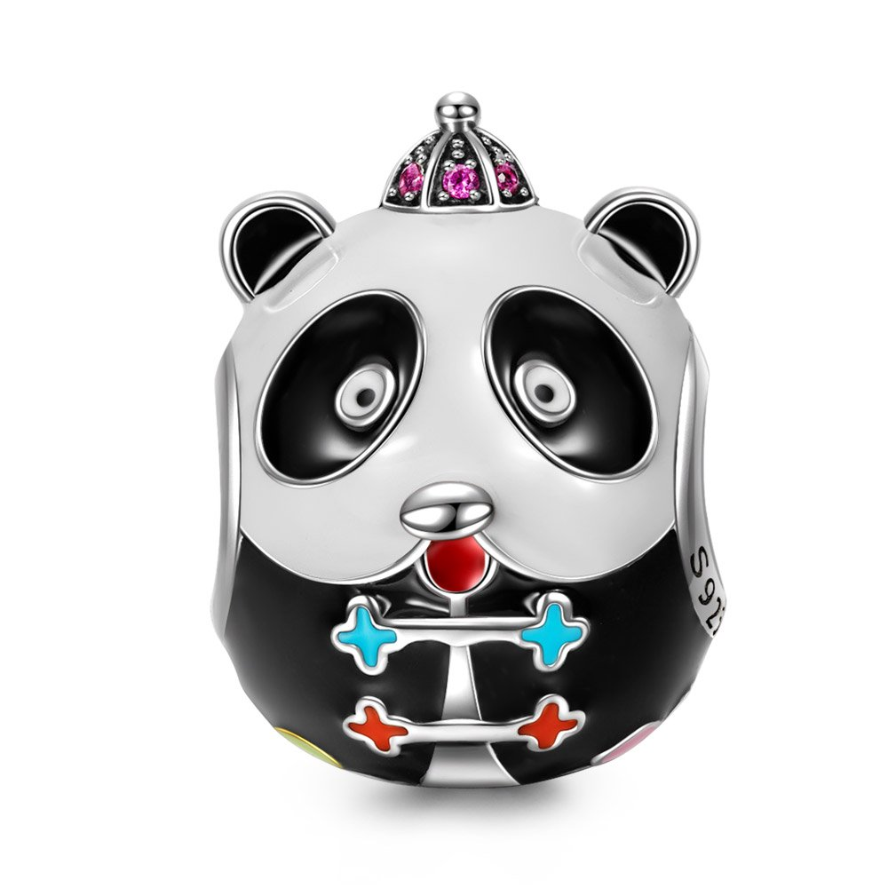 "2a0da2f6a ♥DESIGN INSPIRATION♥ Inspired by the movie ""Kung Fu Panda"", this ""Kung Fu  Panda"" charms belongs to the collective edition of"