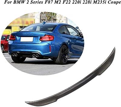 Carbon Fiber BMW F22 2-Series Performance P Type Rear Trunk Lip Spoiler Wing