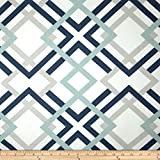 Premier Prints Winston Premier Navy Fabric By The Yard offers