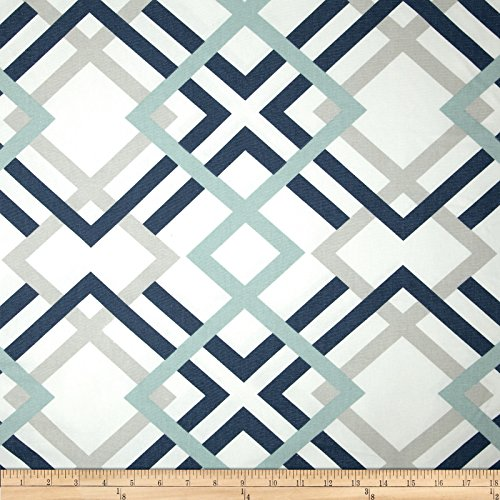 Premier Prints Winston Premier Navy Fabric By The Yard