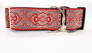 product image for Diva Dog Martingale Dog Collar - Kashmir