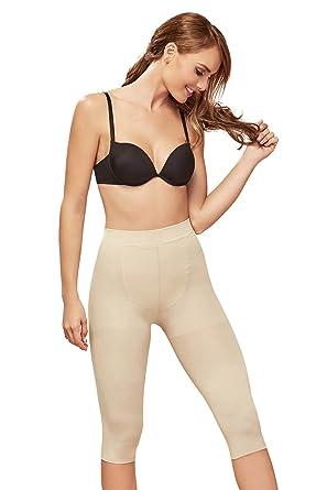 15a395c129 Shapewear Women Light Shaper Thermal Long Panty a Cocoon Body Shaper Fajas  Beige