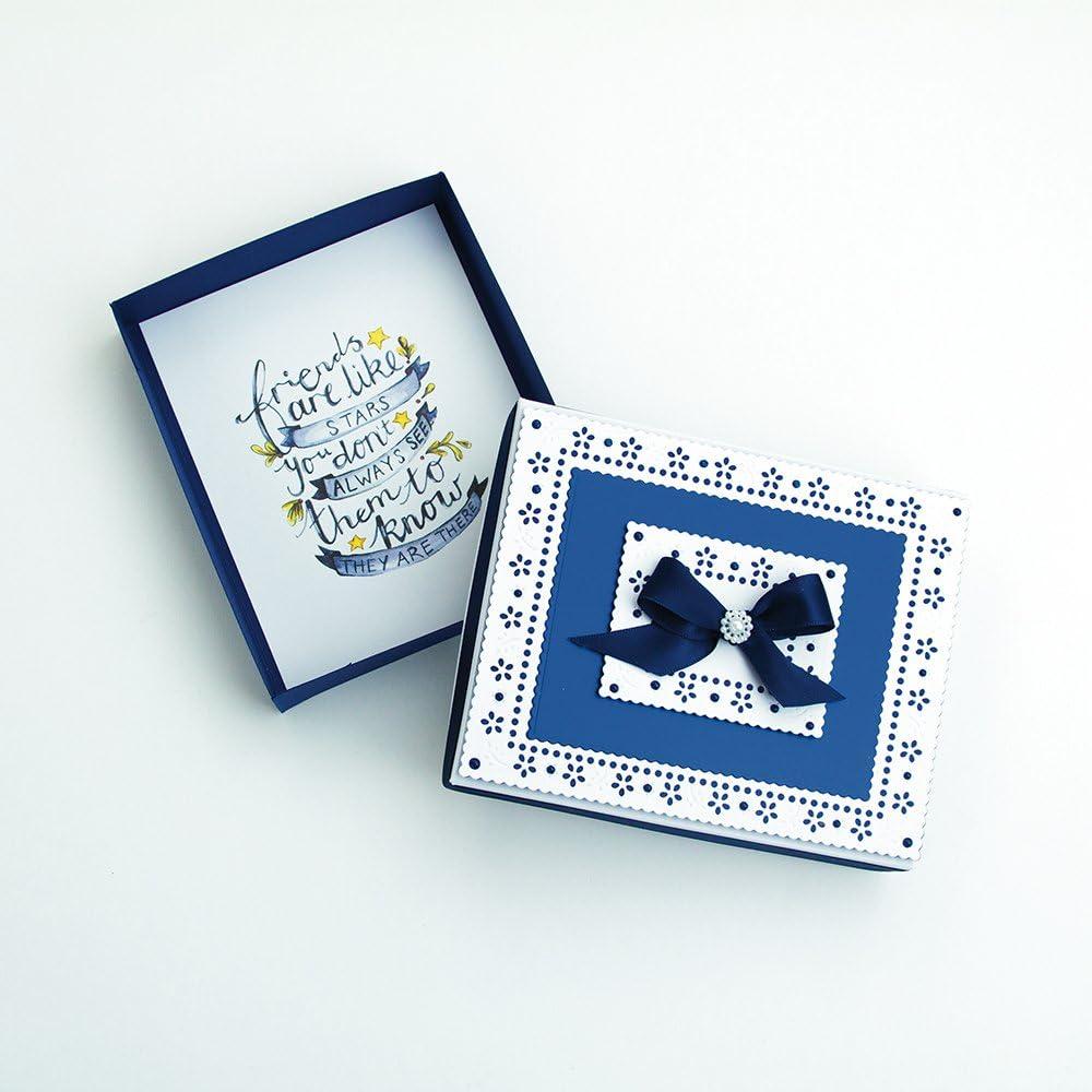 Purple Mist Craft Perfect Satin Mirror Card A4
