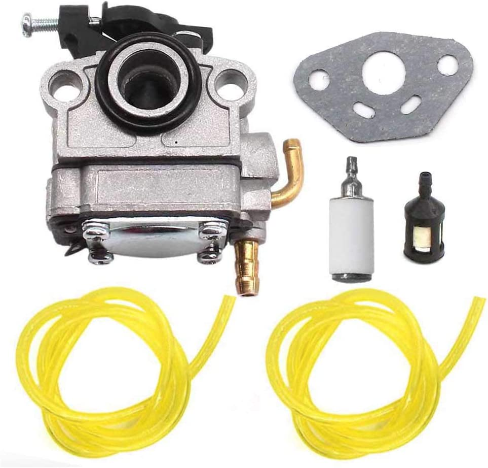 AISEN Carburetor for 753-08057 Troy-Bilt TB625EC TB675EC Trimmer 41ADZ62C766 41ADZ67C766 CUB Cadet Craftsman Troy BILT Bolens Remington Fuel Line Filter