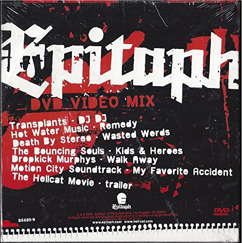 Galleon 2003 Epitaph Dvd Video Mix Transplants Hot Water Music