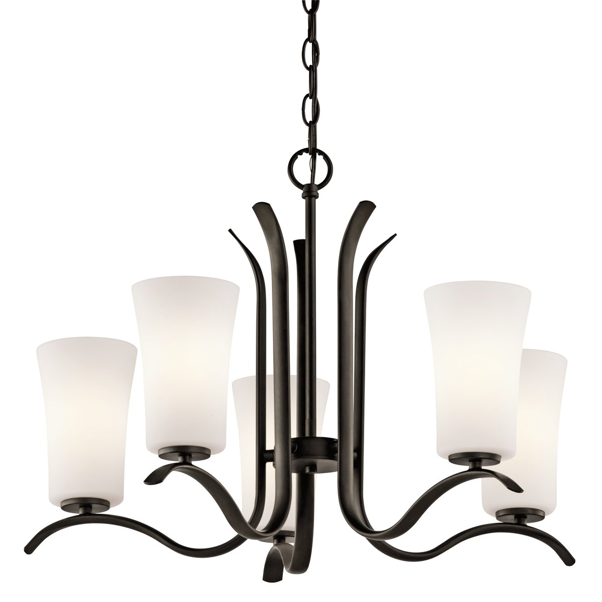 Kichler 43074oz five light chandelier amazon aloadofball Choice Image