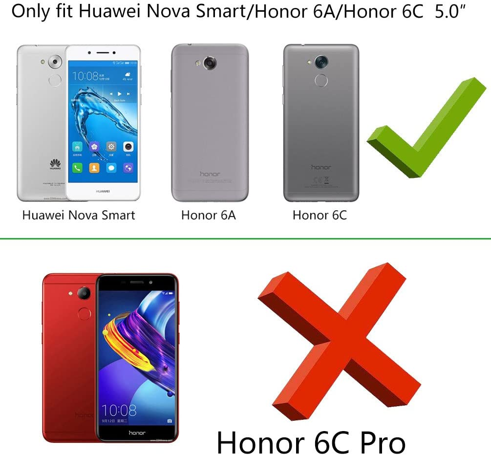 Cover Huawei Nova Smart, Custodia Honor 6A / Honor 6C Antiurto ...