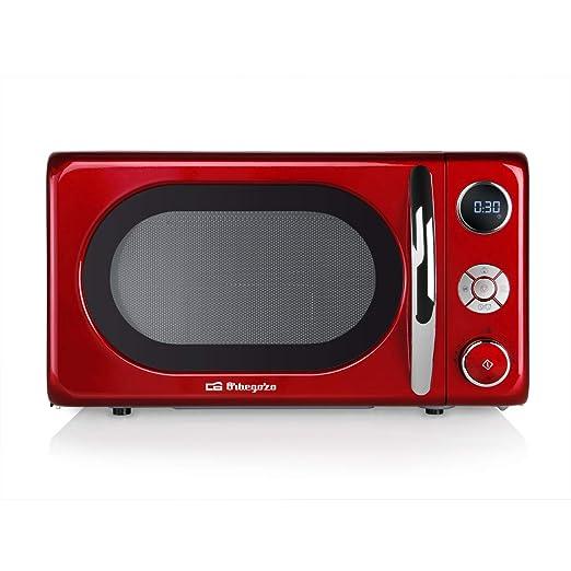 Orbegozo MIG 2042 - Microondas con grill, 20 litros de capacidad, 10 niveles de potencia, 8 menús automáticos preconfigurados, sistema de cocción ...