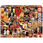 Educa Borras 1000 Collage Birra Vintage Puzzle Multicolore 17970