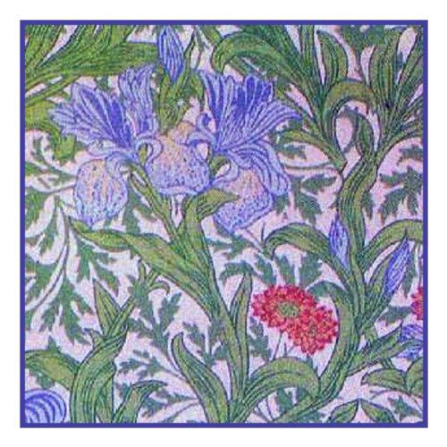 Iris Cross Stitch Pattern - 8