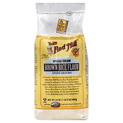 De Bob Red Mill Harina de Arroz café, 24 oz (Pack de 1 ...