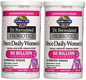 Garden Of Life Dr Formulated Probiotics Once Daily Women 39 S 30 Count 30x2 Health
