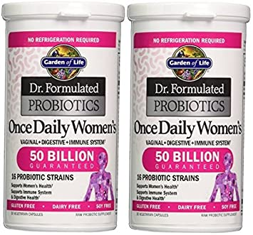 Amazoncom Garden Of Life Dr Formulated Probiotics Once Daily