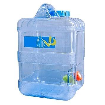 Recipiente De 15 L para Almacenamiento De Agua Al Aire Libre,Portátil para Llevar En