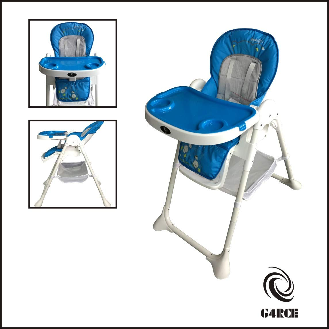 Adjustable Baby High Chair Infant Children Toddler Feeding Booster Seat Folding