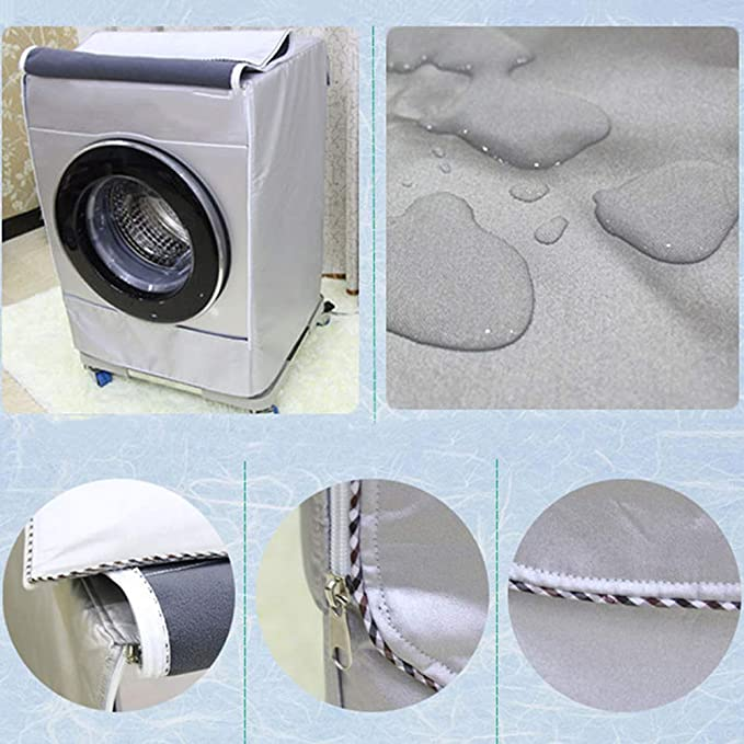 CviAn Funda para lavadora portátil, resistente al agua, totalmente ...