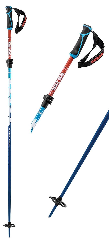 fe79f534c70f Amazon.com   K2 Freeride Flipjaw 120 Ski Pole 2019 - Black   Sports    Outdoors