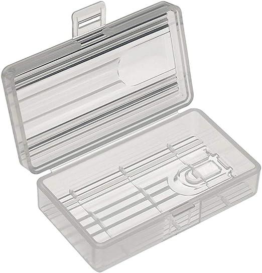 OUNONA batería Caja Transparente batería Caja Organizador de ...