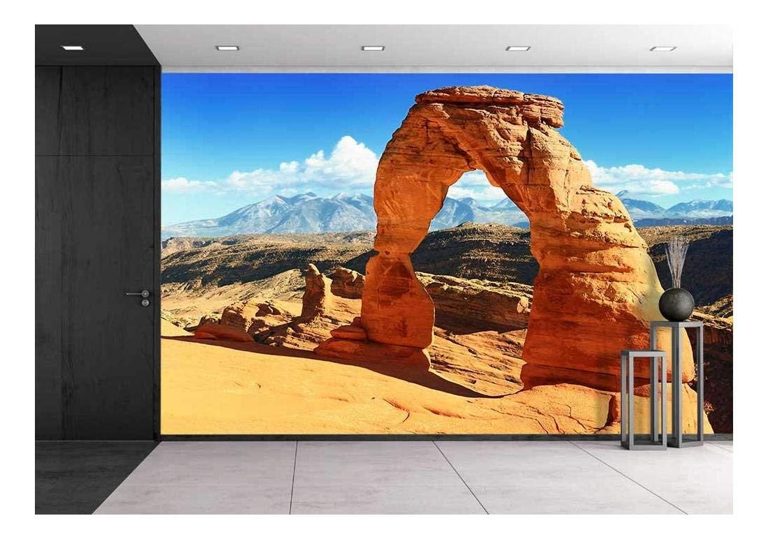 Wall26 - Sunset at Famous Delicate Arch USA - Canvas Art Wall Decor - 100''x144'' by wall26
