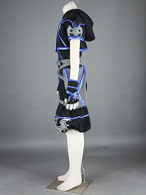 Kingdom Hearts Cosplay Costume - Sora 4th Ver black XX-Small ...