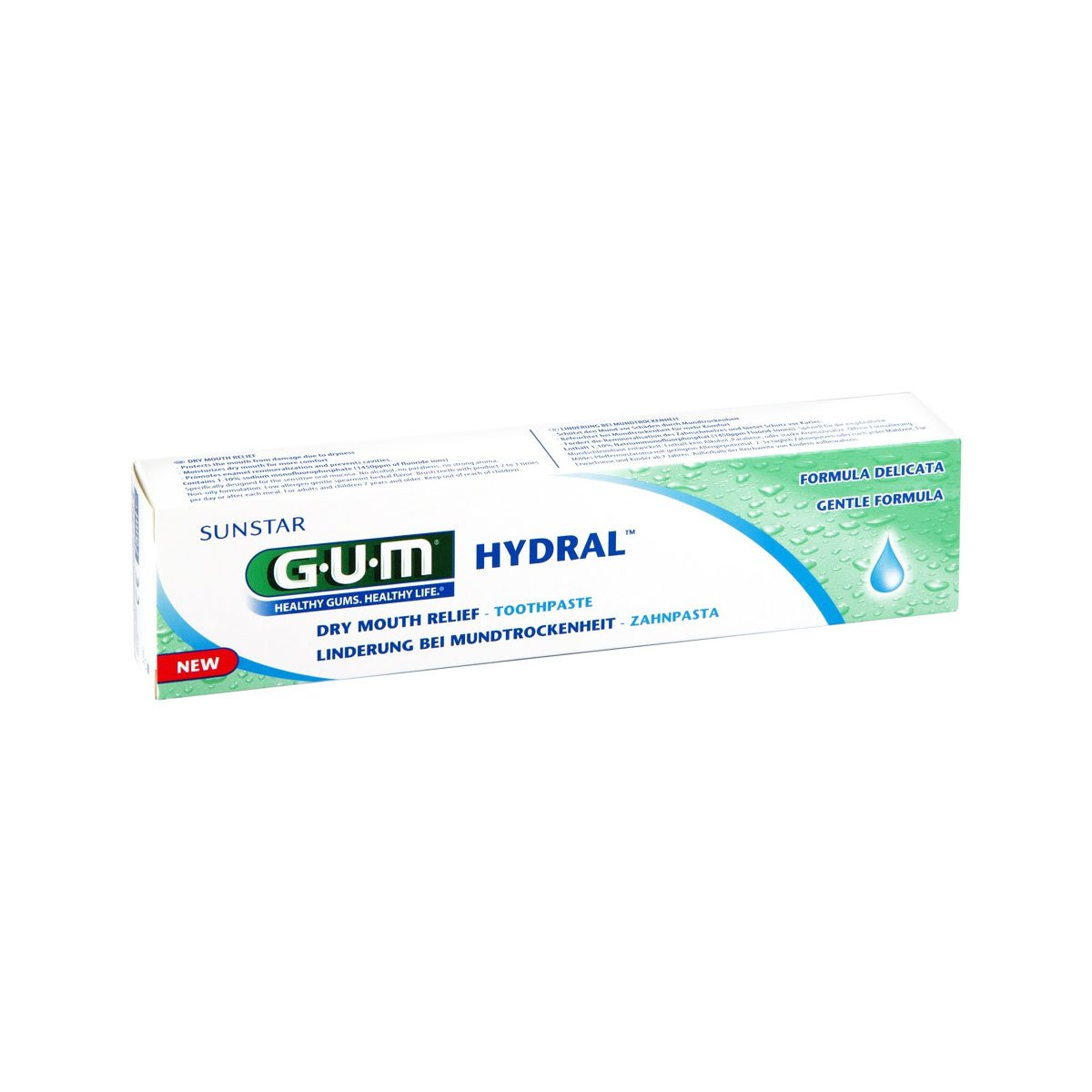 Gum Hydral Dry Mouth Toothpaste 75ml