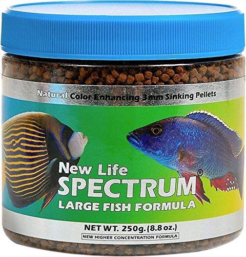 New Life Spectrum Large Fish Formula 3mm Sinking Pellet Fish Food