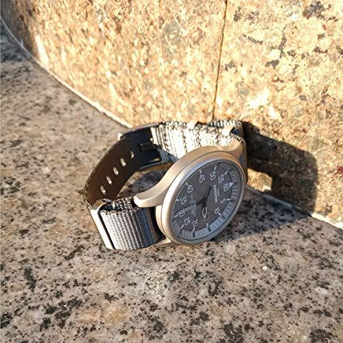 Vinband Correa Reloj Calidad Alta Lienzo Nylon Correa Relojes ...