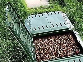 Jardín compostador TI-1600L Negro módulo termocompostador (Compost ...
