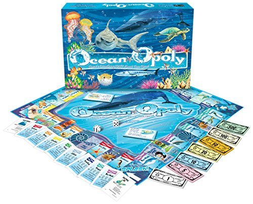 - Ocean-Opoly Monopoly Board Game