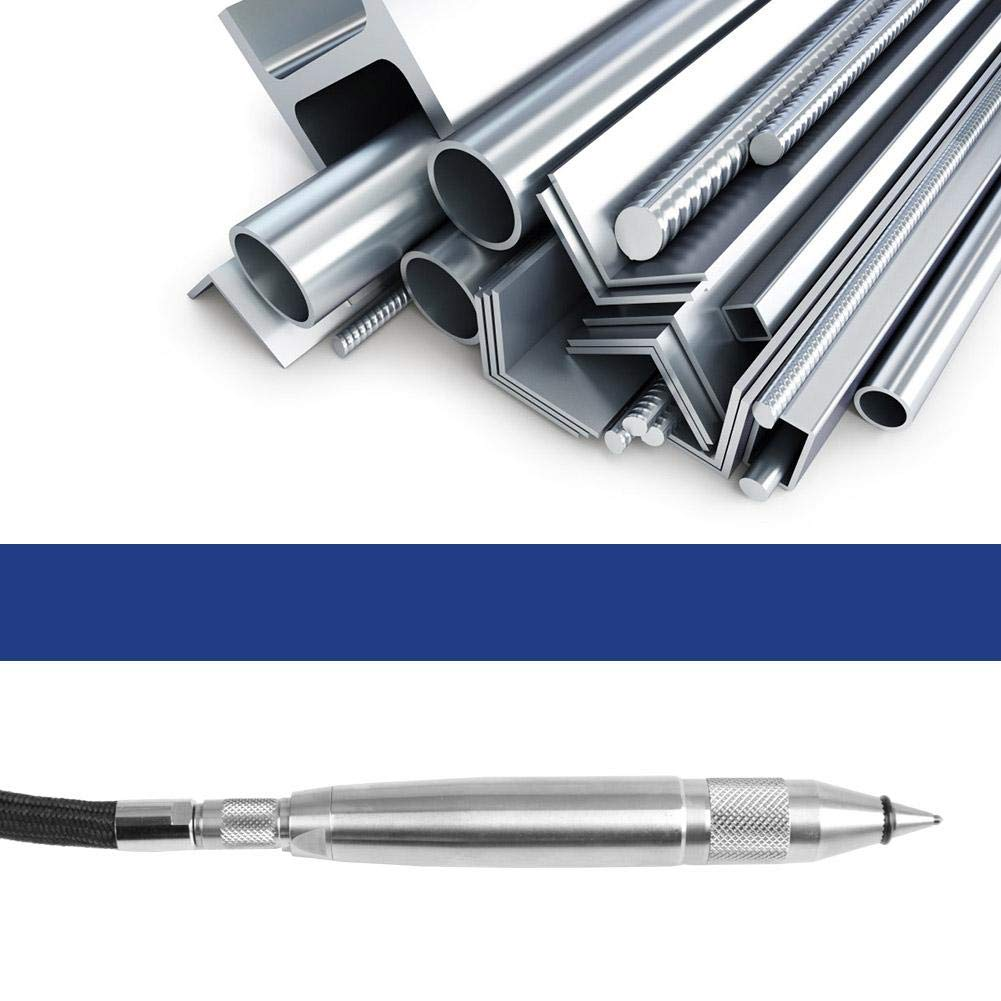 verre bois outil de gravure Outil de lettrage pour m/étaux 1//4Micro crayon de gravure pneumatique stylo scribe Stylo de gravure pneumatique plastique pierre mini kit de meuleuse /à air