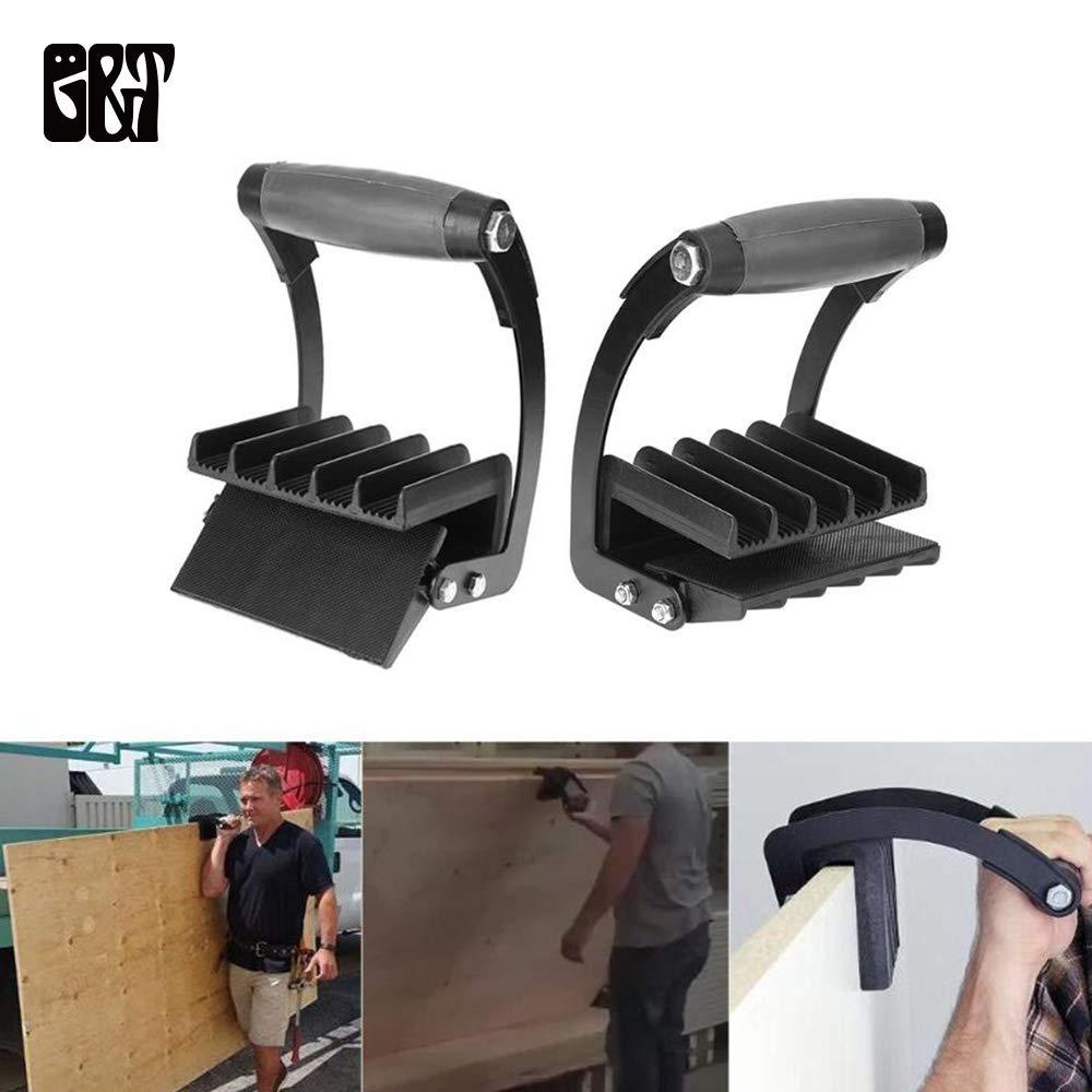Panel Carrier Gripper Heavy Duty Metal Gripper, Sheet Goods Carry Handle Easy Gorilla Gripper Panel
