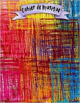 Cahier de Musique: A4 - 108 pages - 12 portées par pages - Doodle - Boho - Mandala - couverture souple glossy - musicbook doodles, boho and mandalas - chant - musicien - compostion