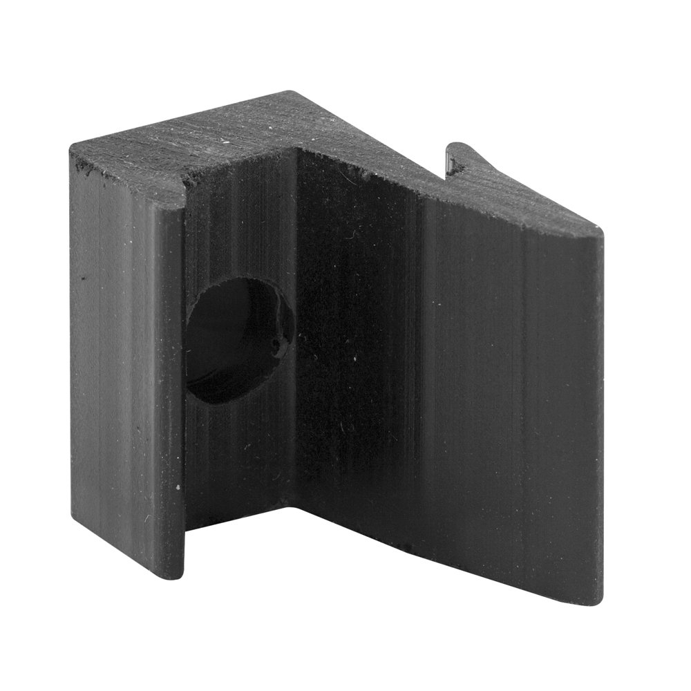Slide Co 191232 Shower Door Jamb Bumper Guide Black Pack Of 2