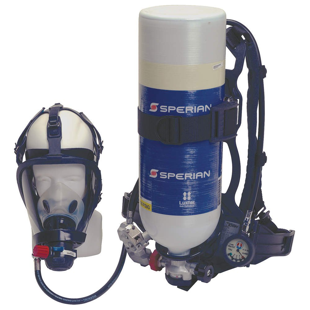 Honeywell 888888 Cougar 2216 psig Industrial Self Contained Breathing Apparatus With Alarm, Cylinder, Facepiece And 30 Minute Aluminum Cylinder (1/EA)