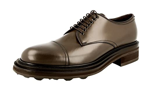 Men's 2EA132 ZJY F0170 Leather Business Shoes