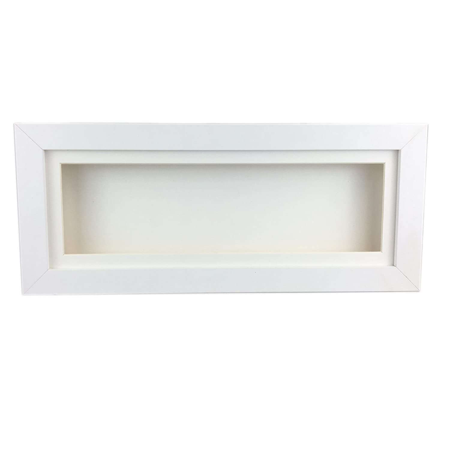 Deep shadow box tall display frame, 20 x 4 for medals, spoons ...