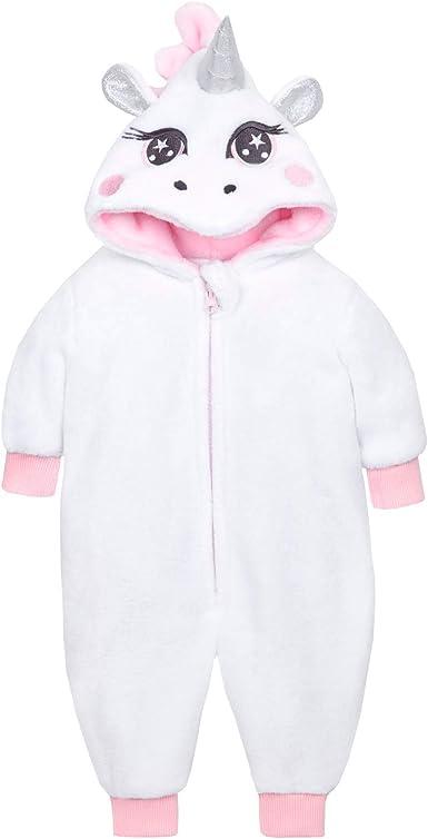 Baby Girls Novelty Fleece Animal All in One