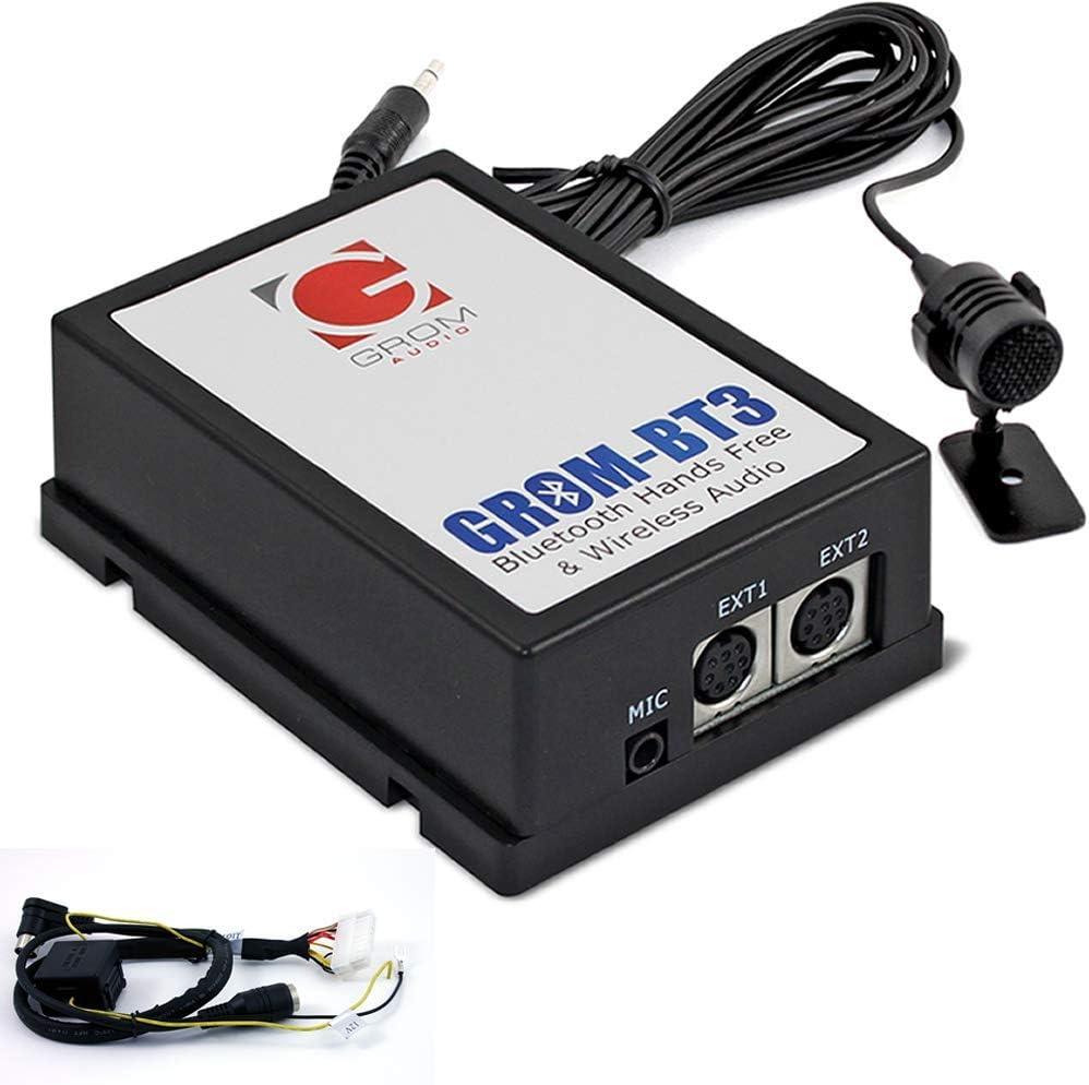 Kit GROM Audio BT3 Integrado Coche Bluetooth para 01+ VOLVO S40 S60 S70 V40 V70 S80 XC70 con radio HU