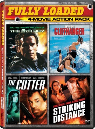 6th Day, the / Cutter, the - Vol / Cliffhanger / Striking Distance - Vol - Set
