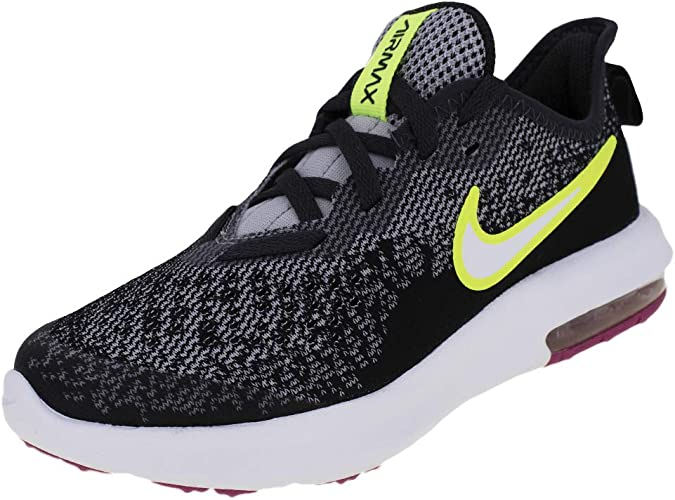 folleto dividendo interior  Nike Nike Air Max Sequent 4 (ps), Boy's Track & Field Shoes, Multicolour  (Wolf Grey/Volt/Black/Anthracite 000), 12 Child UK (30 EU): Amazon.co.uk:  Shoes & Bags