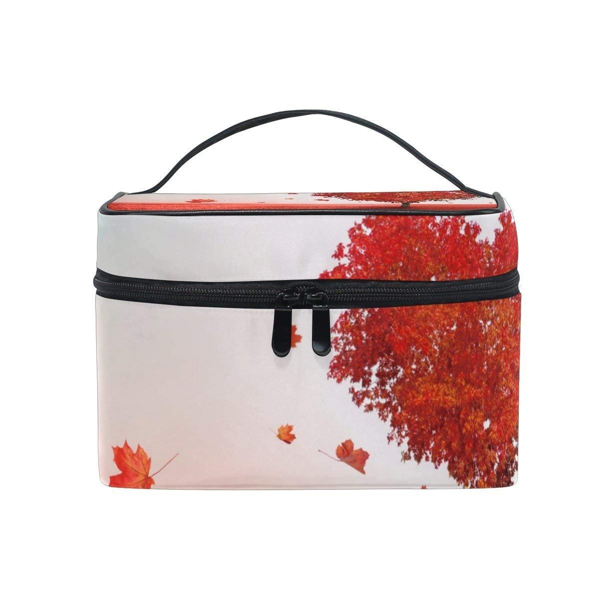 Makeup Bag Love Heart Tree Mens Travel Toiletry Bag Mens Cosmetic Bags for Women Fun Large Makeup Organizer