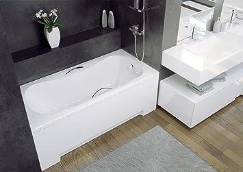EXCLUSIVE LINE® - Vasca da bagno rettangolare 130, 140, 150, 160 ...