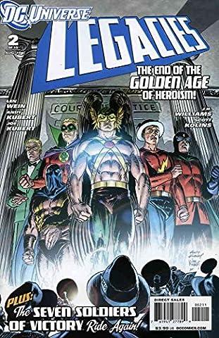 DC Universe Legacies #2 VF/NM ; DC comic book (Dyna Sander)