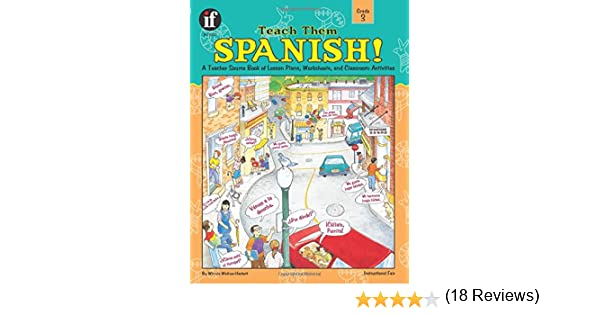 Workbook 4th grade spanish worksheets : Teach Them Spanish! Grade 3: Winnie Waltzer-Hackett: 0651468210502 ...